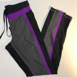 Xersion Polyester Blend Fitted Athletic Pants